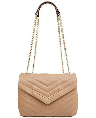 Nine West Women's Brown Jazlyn Shoulder Crossbody Bag