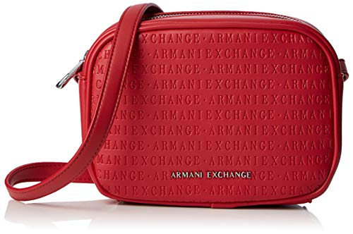 A|X Armani Exchange Small Crossbody, red