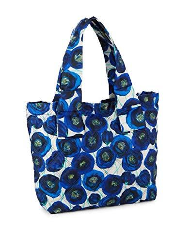 Marc Jacobs Floral Tote Blue Multi
