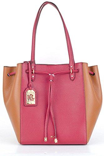 Ralph Lauren Handbag Oxford Tote Rosewood