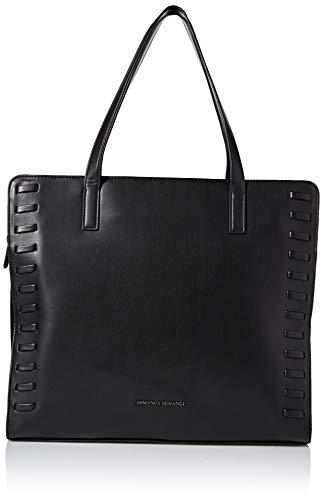 A|X Armani Exchange Women's Square Handbag, nero – black 82