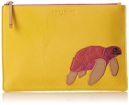 Liebeskind Berlin – Minja Seacre, Women's Bag Organiser, Yellow (Sunshine Yellow), 2x23x16 cm (B x H x T)