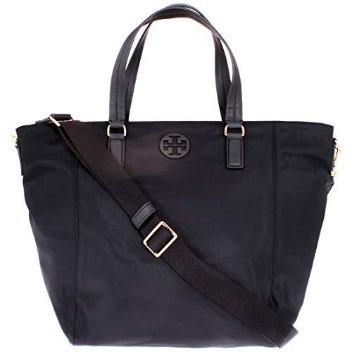 Tory Burch Tidla Ladies Small Black Nylon Tote Bag 51328-001