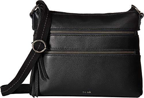 The Sak Reseda Leather Crossbody Black One Size