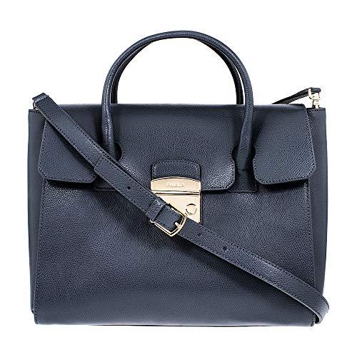 Furla Metropolis Ladies Medium Gray Ardesia Leather Satchel 978151