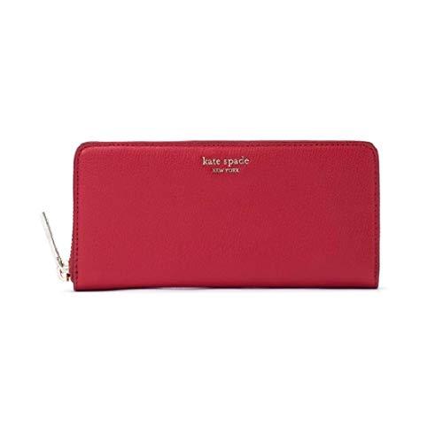 Kate Spade Sylvia Ladies Small Red Leather Clutch Handbag PWRU7245611