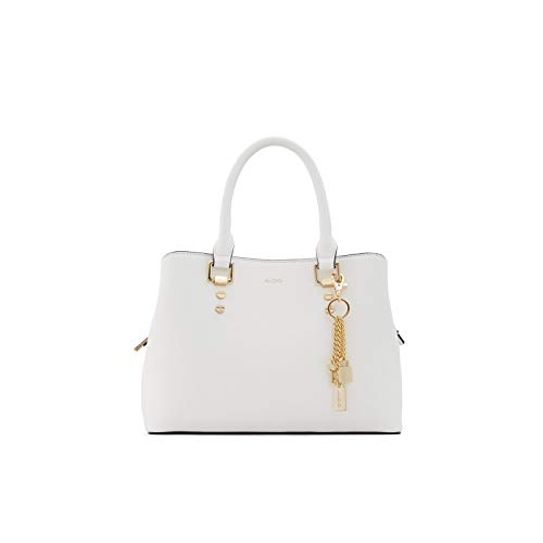 Aldo Top Handle Satchel Handbag Legoiri, White