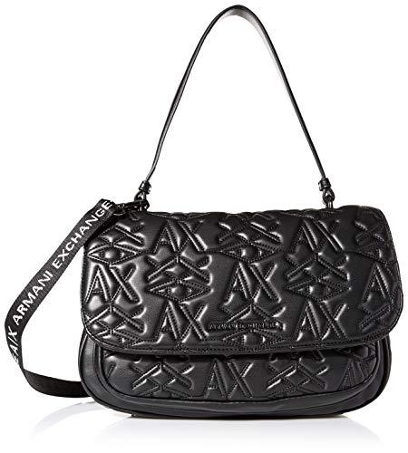 A|X Armani Exchange Top Handle Bag, black