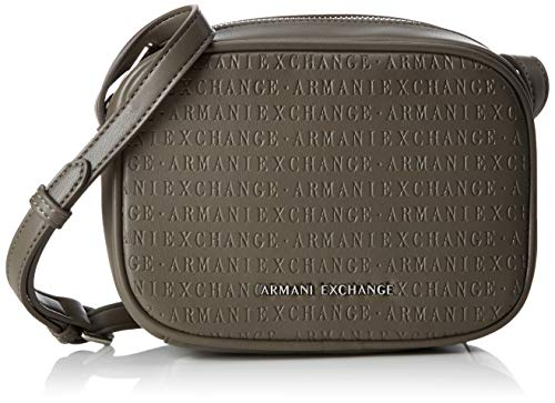 A|X Armani Exchange Women's Small Crossbody Bag, taupe – taupe 166