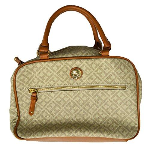 Tommy Hilfiger Duffle Handbag in Beige