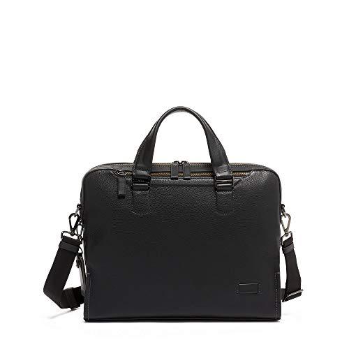 TUMI – Harrison Bradford Brief – Black Pebbled Leather