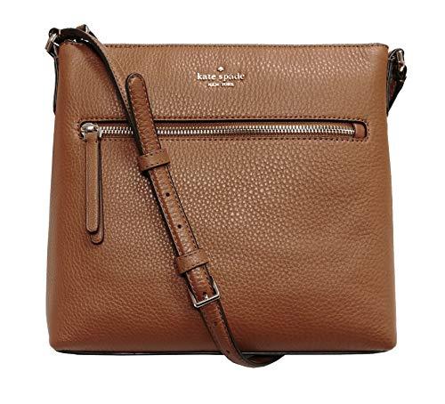 Kate Spade New York Jackson Top Zip Crossbody Bag Warm Gingerbread Brown