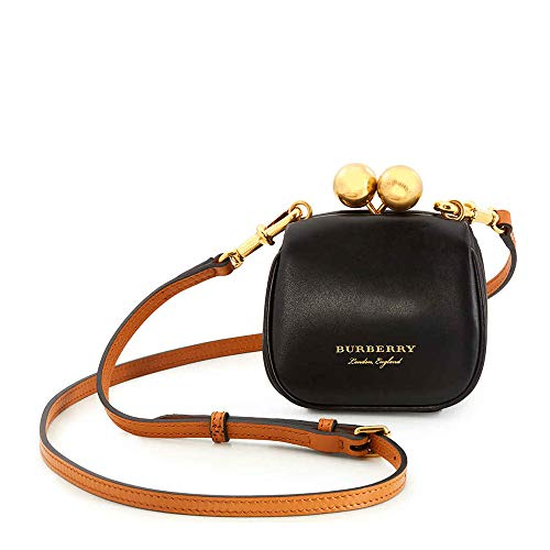 Burberry Two Tone Mini Frame Bag – Black/Brown