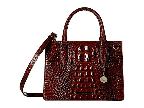 Brahmin Womens Small Camille Pecan One Size