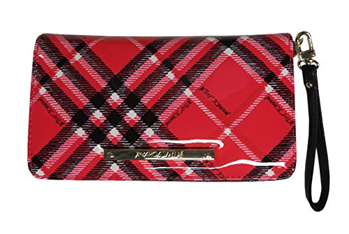 Betsey Johnson Women's Z/A Wristlet/Wallet Pink/Multi