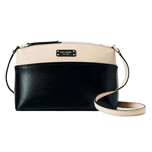 Kate Spade New York Jeanne Crossbody Bag – Warm Beige/Black, Medium