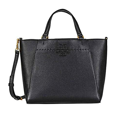 Tory Burch McGraw Small Carryall- Black