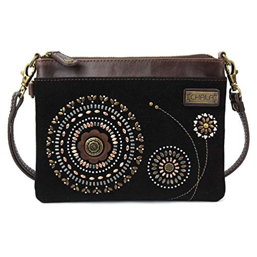 Chala Handbags Starburst Bohemian Dazzled Mini Crossbody Handbag