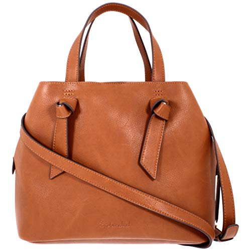 Splendid Bodega Knot Ladies Leather Satchel 4BOD06VL-COG