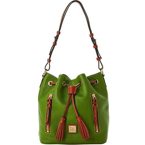 Dooney & Bourke Pebble Grain Cooper Drawstring Shoulder Bag