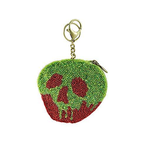 Mary Frances Poison Apple Beaded Key Fob/Coin Purse