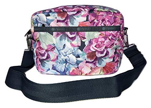 LeSportsac Desert Bloom Austin Crossbody Handbag Detachable/Adjustable/Interchangeable Strap Metal Hardware