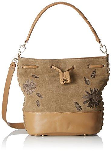 Liebeskind Nina Blog, Women's Shoulder Bag, Green (Khaki Green), 15x29x33 cm (B x H T)
