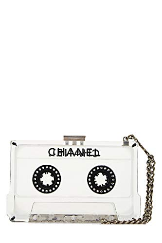 CHANEL Clear Lucite Cassette Wristlet (Pre-Owned)