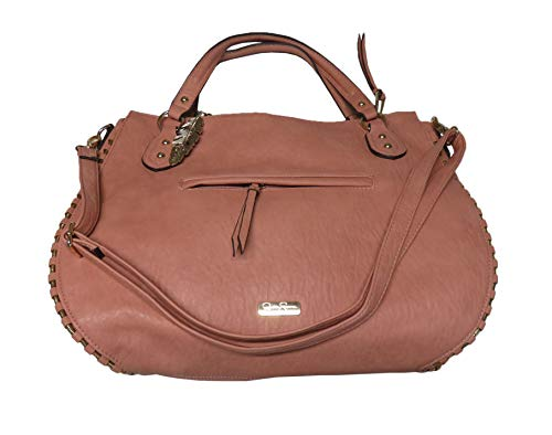 Jessica Simpson Women's Large Selena Tote, Large, Size 16″X12″X4″, Rose Cloud