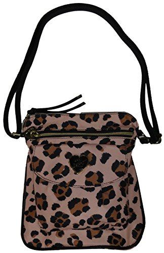 Betsey Johnson Women's Nylon Mush Crossbody/Xbody Handbag, Multi