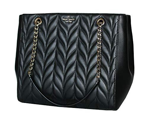 Kate Spade Briar Lane Quilted Willis Black Leather Tote Women's Handbag