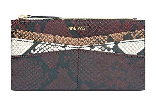 Nine West Slim Colorblock Wallet, Multi