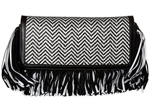 Sam Edelman Women's Fifi Clutch Black/White One Size