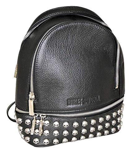 Harley-Davidson Women's Willie G Skull Dual Use Purse Backpack HDWBA11364-BLS