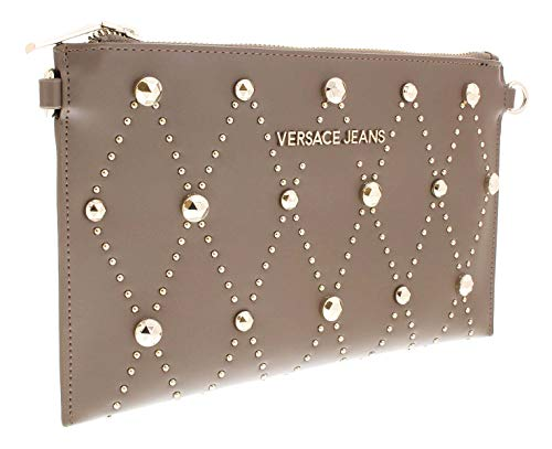 Versace EE3VSBPE8 E148 Taupe Clutch for Womens