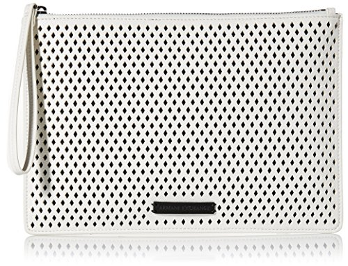 A|X Armani Exchange Big Perforated Pouch, 01610