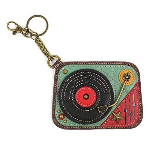 Chala Coin Purse/Key Fob (2017 -New Design) (Turntables)