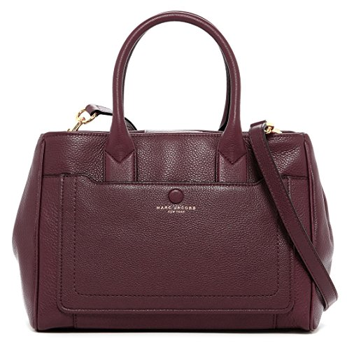 Marc Jacobs Empire City Leather Tote Shoulder Bag, Cordovan