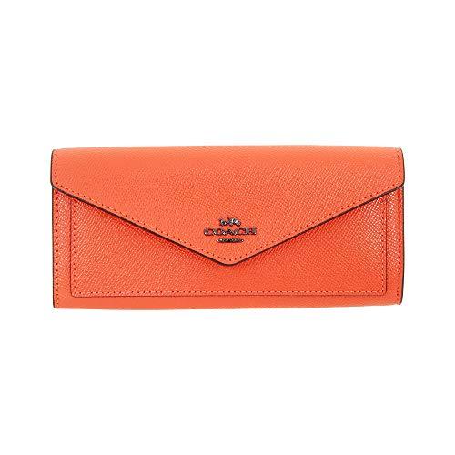 Coach Ladies Large Leather Soft Wallet 57715 DKMAN