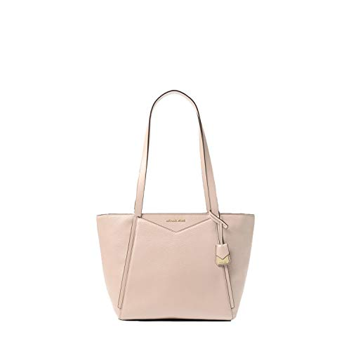 Michael Kors Whitney Small Pebbled Leather Tote (Soft Pink)