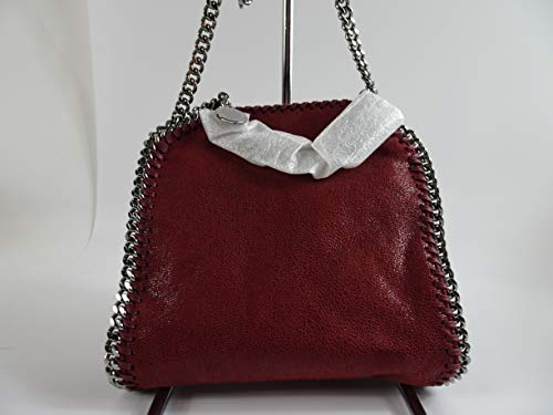 Stella McCartney Falabella 391698w9132 Dark Cherry Tiny Tote