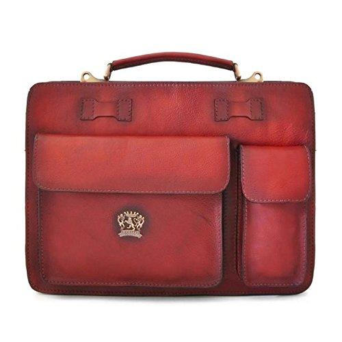 Pratesi Milano Briefcase – B466/40 Bruce (Chianti)