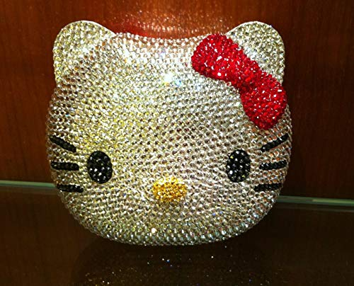 PLASTILINUM by Hello Kitty Crystal Evening Bag Clutch Hand Bag Made with Swarovski Crystals Cool car Tuning Accessories