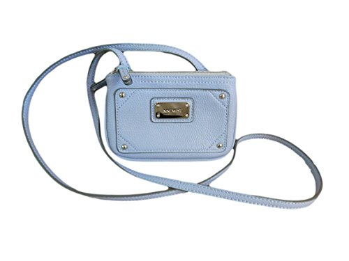 Nine West Small Lavender Double Entry Cross Body Purse