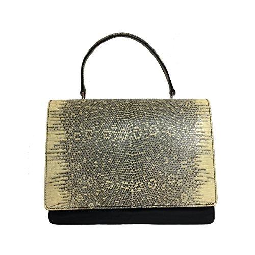 Prada Women's Black Tessuto Lucerto Handbag 1BA016