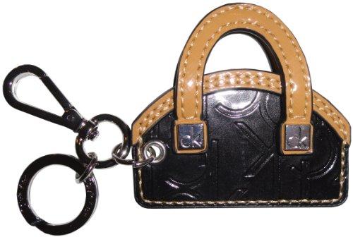 Calvin Klein Handbag Key Chain Fob Black