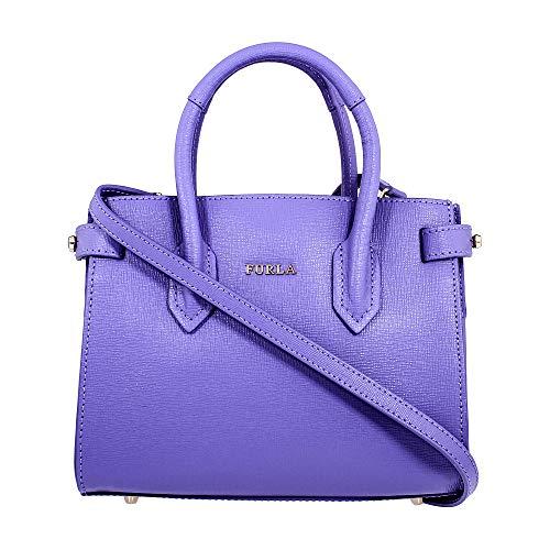 Furla Pin Ladies Mini Purple Lavanda Leather Tote 978753