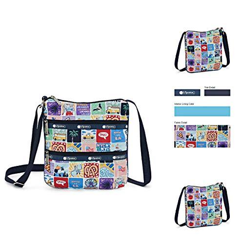 LeSportsac NY to LA Kylie Crossbody Handbag, Style 3244/Color K602 (New York to Los Angeles, Exclusive)