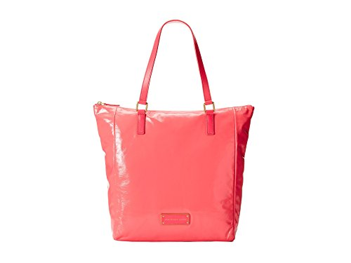 Marc by Marc Jacobs Take Shiny Tote, Bright Coral