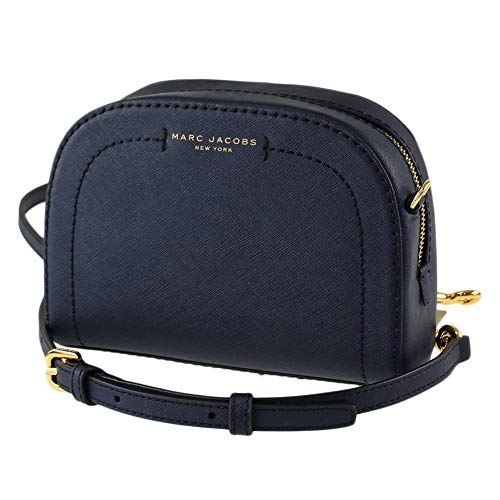Marc Jacobs M0011341-404 Women's Leather Crossbody Bag, Night Sky